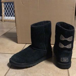 Ugg Diamond Bow Boots